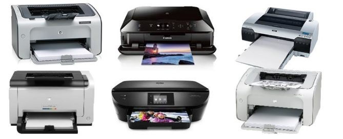 Different Type of Printers