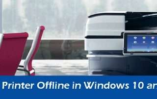 How To Fix Printer Offline in Windows 10 and 8