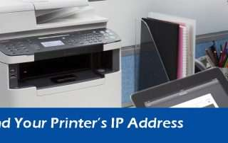 Steps To Find Your Printer's IP Address