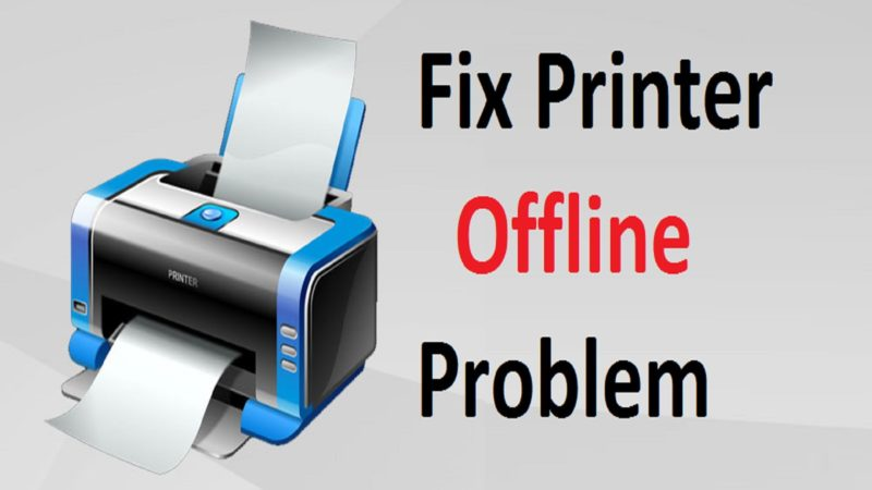 Canon Printer Offline Issue