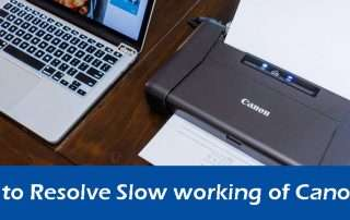 Best Way to Resolve Slow working of Canon printer