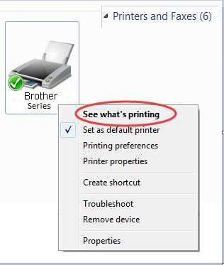 Brother printer connected to Wi-Fi but offline on Windows