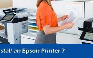 How to Install an Epson Printer