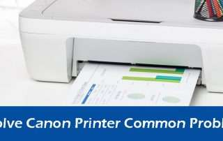 How to solve Canon Printer Common Problems