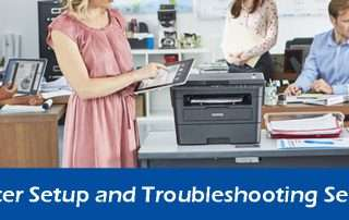 Shared Printer Setup and Troubleshooting Services