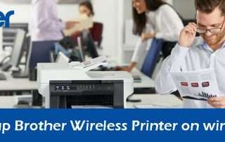 How to Setup Brother Wireless Printer on windows