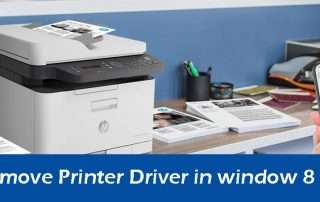 How to Remove Printer Driver in window 8