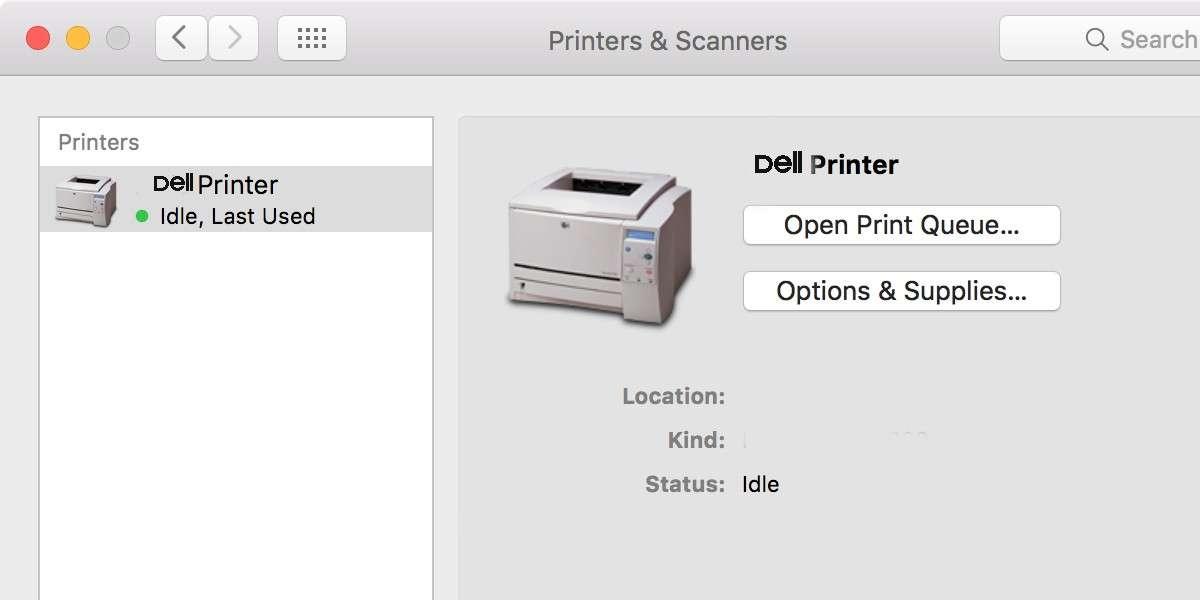 Dell Printer Keeps Going Offline