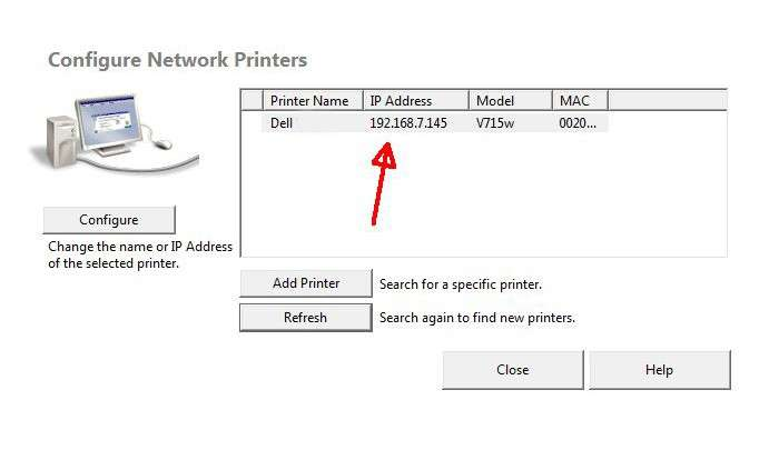 How to Change Dell Printer IP Address computer?
