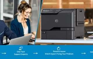 dell printer offline