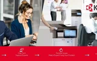 How to bring an Offline Kyocera Printer Online