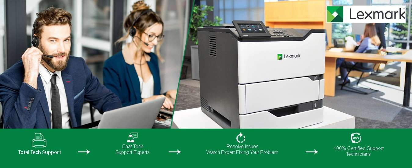 How to Bring an Offline Lexmark Printer Online