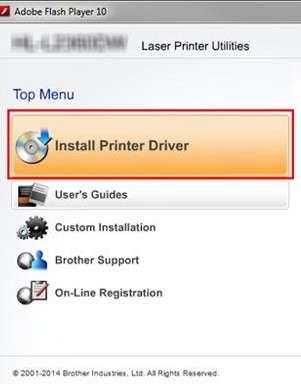 brother printer install