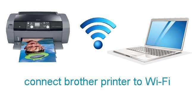 connect brother printer to Wi-Fi